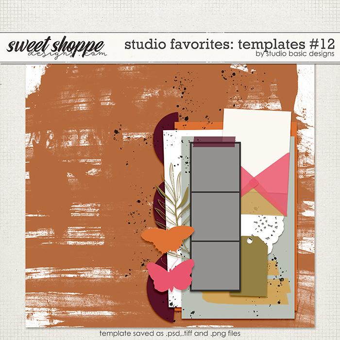 Studio Favorites: Templates #12 by Studio Basic
