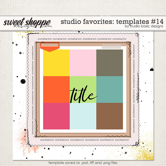 Studio Favorites: Templates #14 by Studio Basic