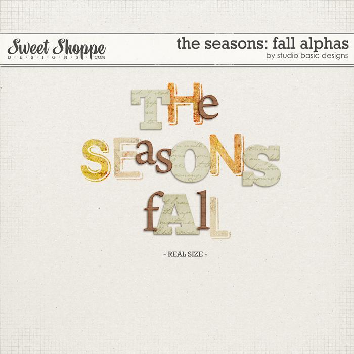 The Seasons: Fall Alphas by Studio Basic
