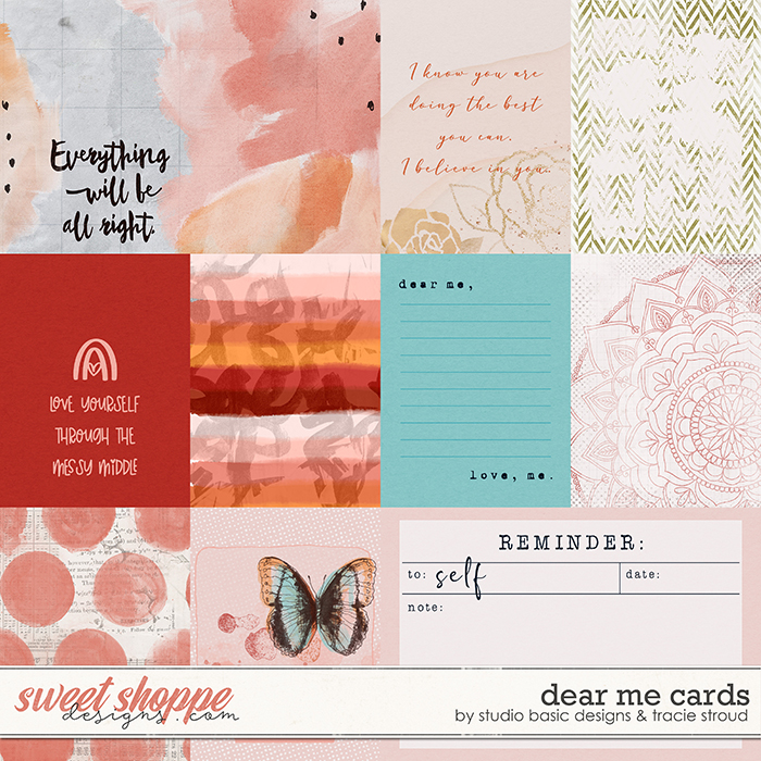 Dear Me Cards by Studio Basic and Tracie Stroud