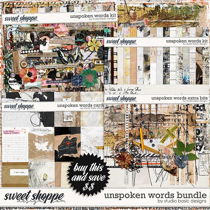 Unspoken Words Bundle by Studio Basic
