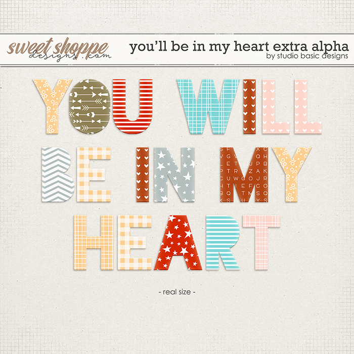 You'll Be In My Heart Extra Alpha by Studio Basic