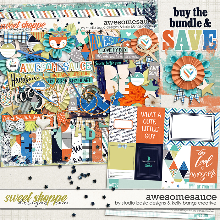 Awesomesauce Bundle by Kelly Bangs Creative and Studio Basic