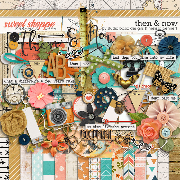 Then And Now Kit by Studio Basic Designs & Melissa Bennett