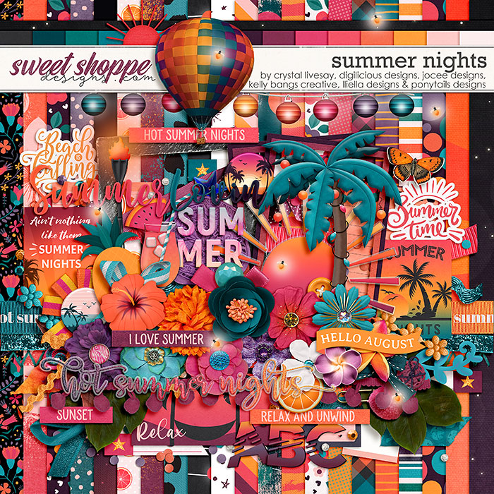 *OFFER EXPIRED* Sixlet #2 - Summer Nights by Allie, Christine, Crystal, Jo, Kelly & Nat