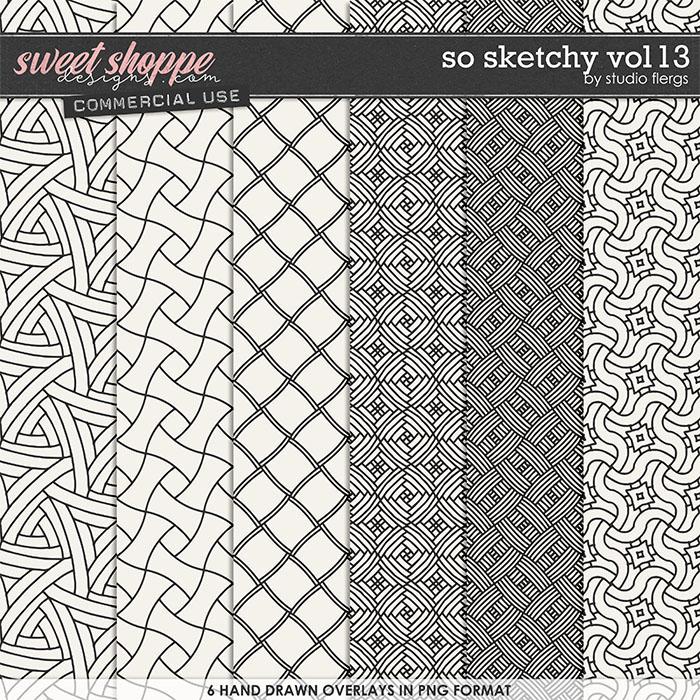 So Sketchy VOL 13 by Studio Flergs