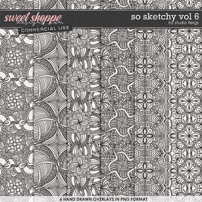 So Sketchy VOL 6 by Studio Flergs