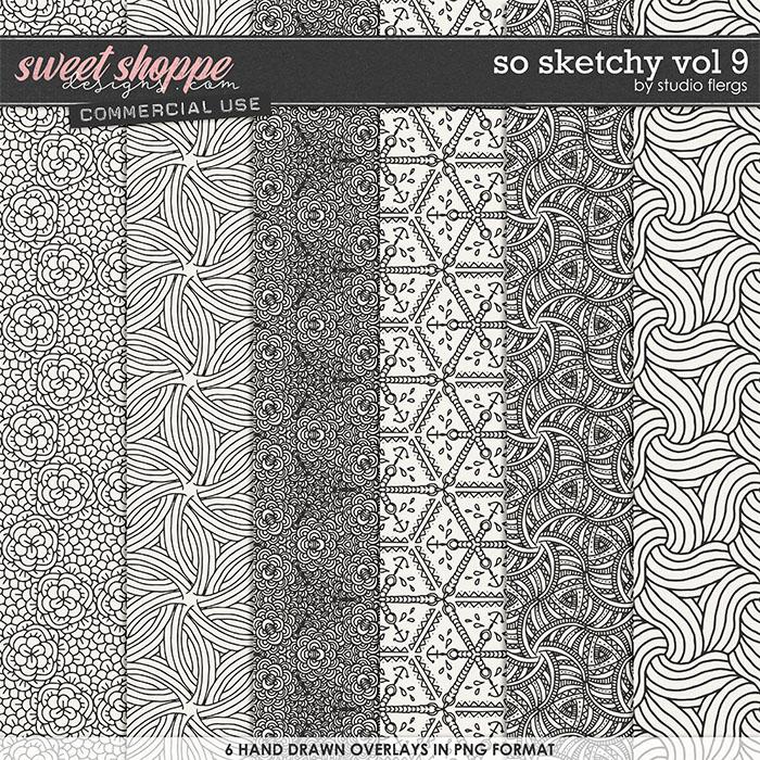 So Sketchy VOL 9 by Studio Flergs