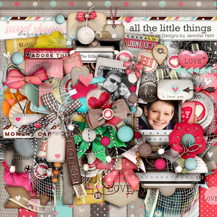 all the little things kit: Simple Pleasure Designs by Jennifer Fehr