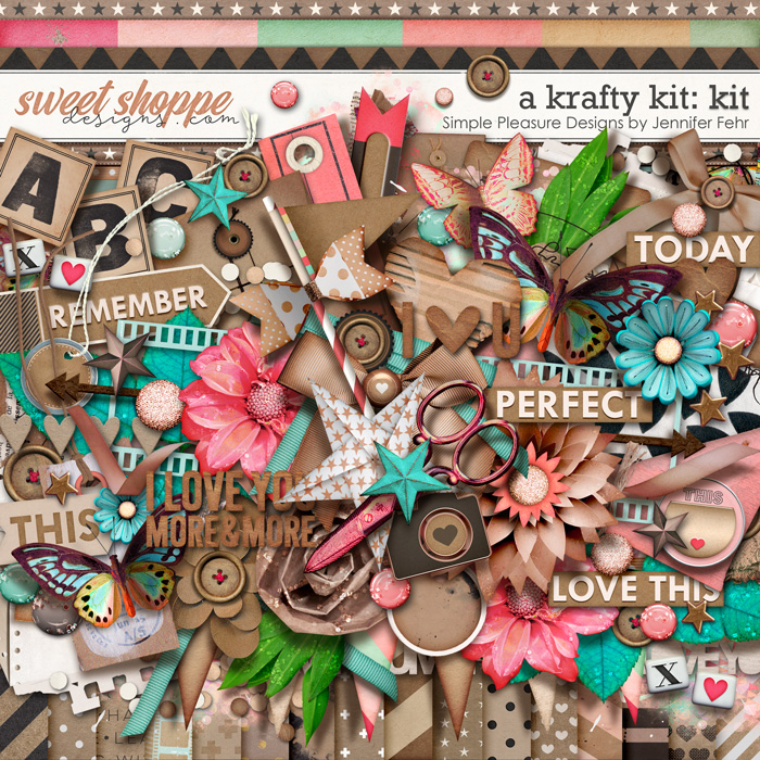 "a ""krafty"" kit: simple pleasure designs by jennifer fehr"