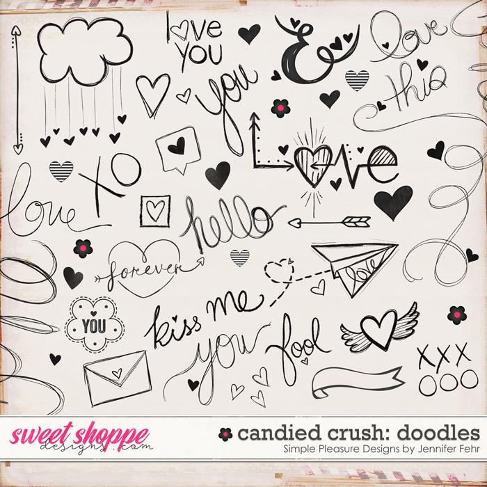 candied crush doodles: Simple Pleasure Design by Jennifer Fehr