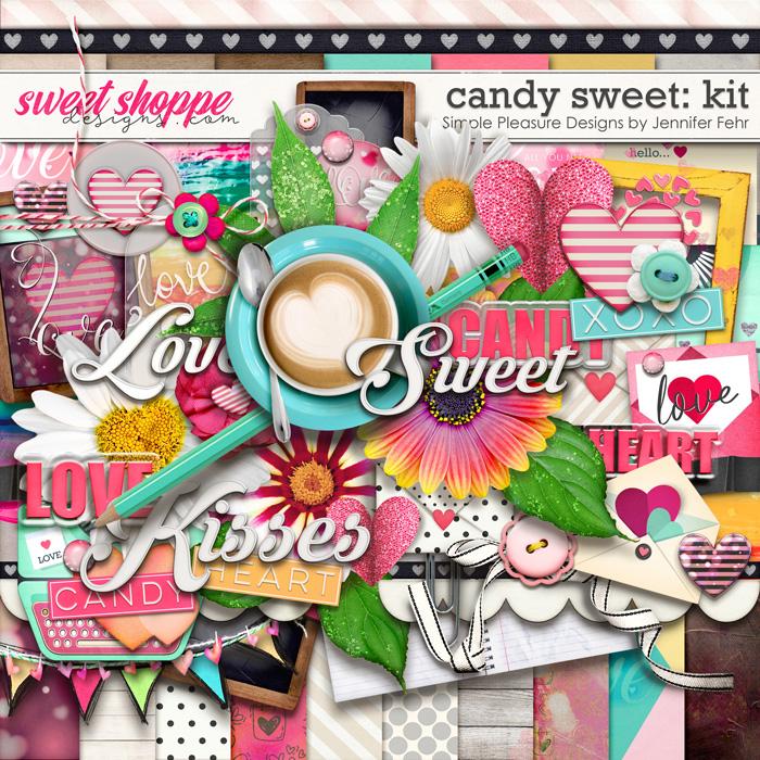 candy sweet kit: Simple Pleasure Designs by Jennifer Fehr