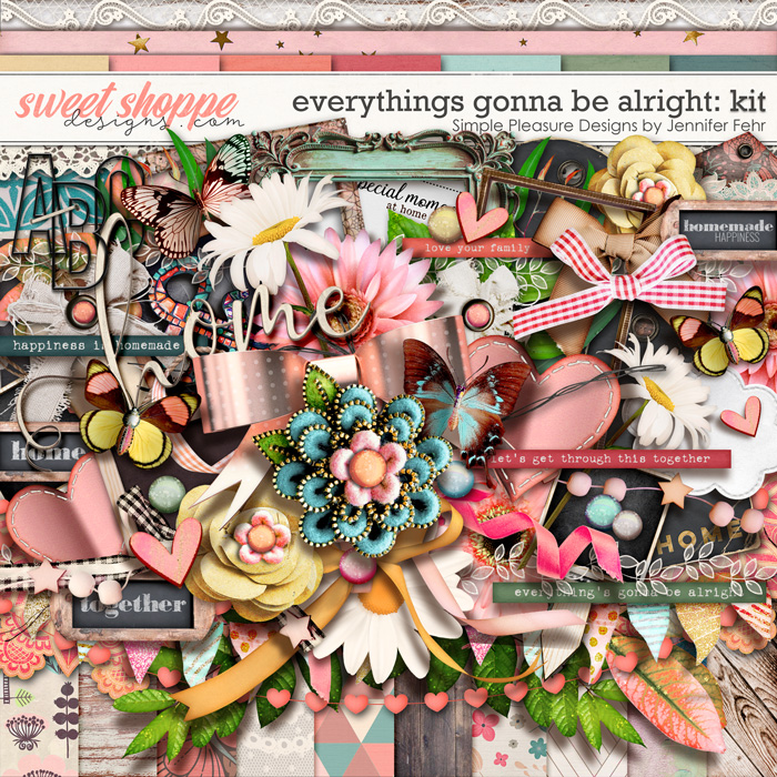 everything's gonna be alright kit: Simple Pleasure Designs by Jennifer Fehr