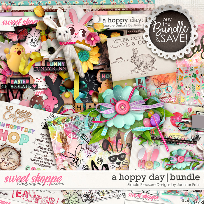 a hoppy day bundle: simple pleasure designs by jennifer fehr