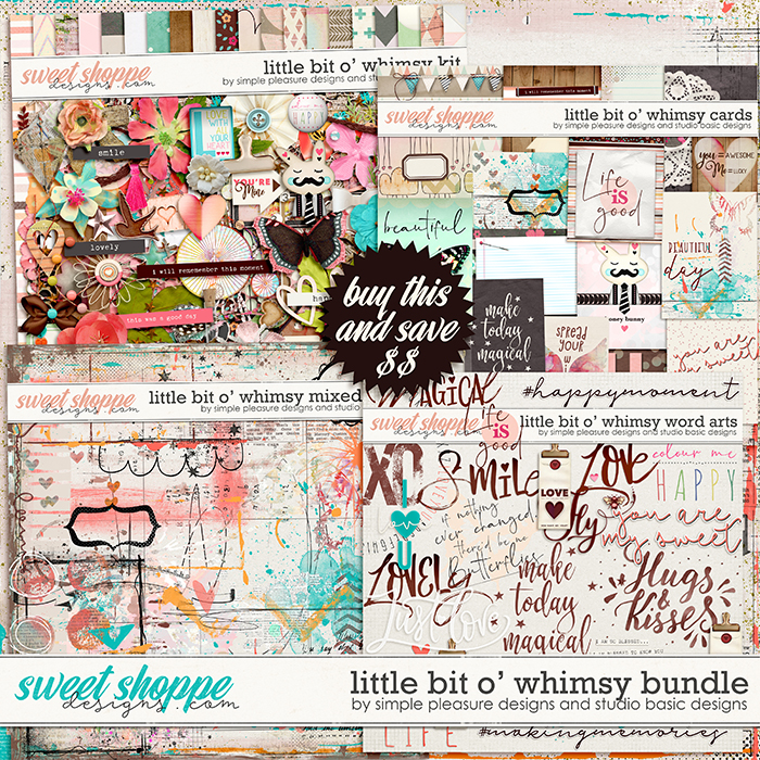 Little Bit O' Whimsy Bundle by Simple Pleasure Designs and Studio Basic