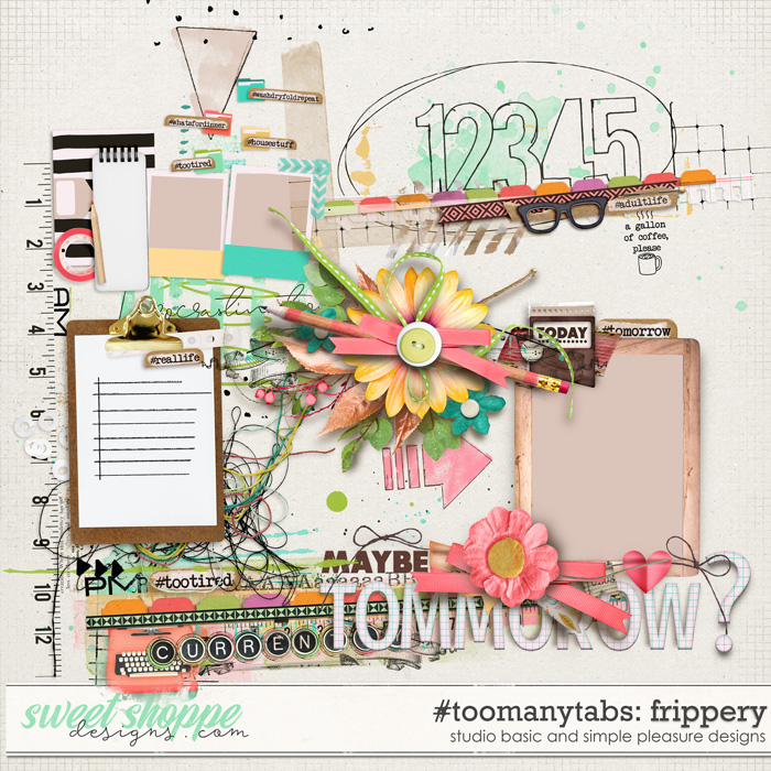 #toomanytabs Frippery by Simple Pleasure Designs and Studio Basic