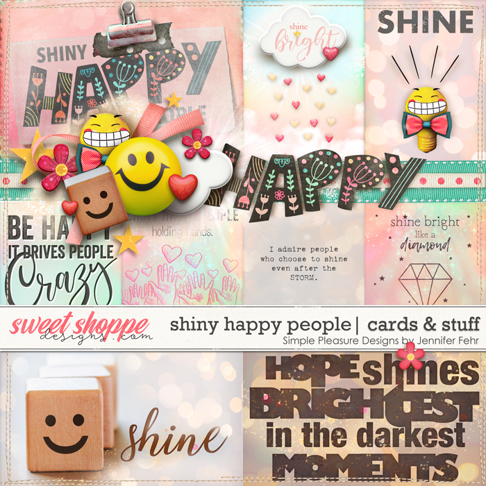 shiny happy people cards & stuff: simple pleasure designs by jennifer fehr