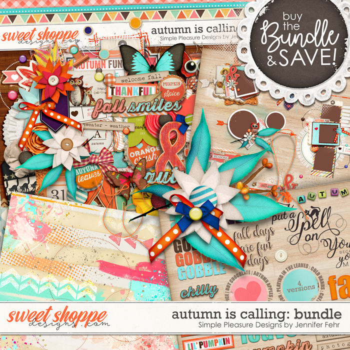 autumn is calling bundle: Simple Pleasure Designs by Jennifer Fehr