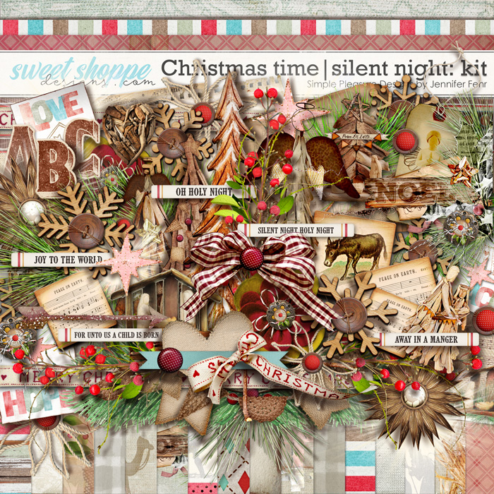 Christmas time | silent night kit: simple pleasure designs by Jennifer Fehr