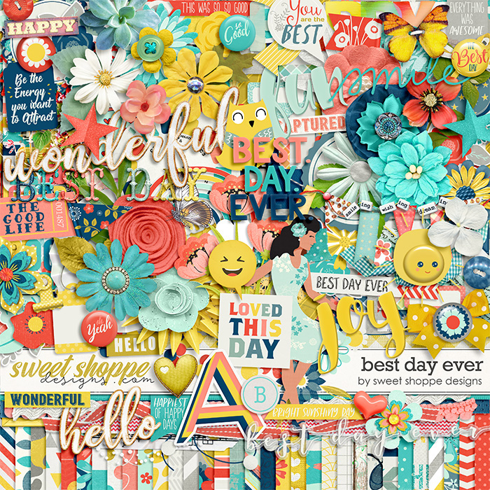 *OFFER EXPIRED* Best Day Ever by Sweet Shoppe Designs
