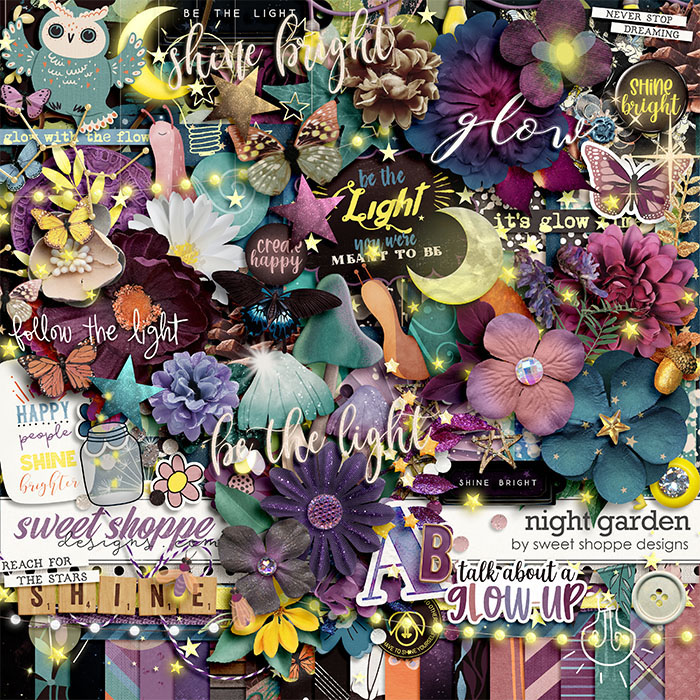 *OFFER EXPIRED* Night Garden by Sweet Shoppe Designs