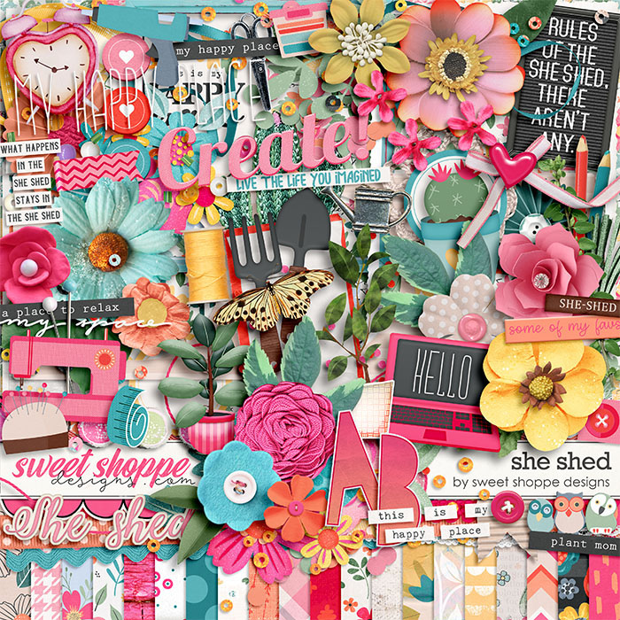 *OFFER EXPIRED* She Shed by Sweet Shoppe Designs