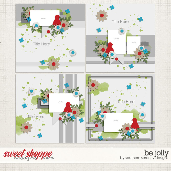 Be Jolly Layered Templates by Southern Serenity Designs