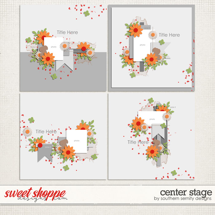 Center Stage Layered Templates by Southern Serenity Designs