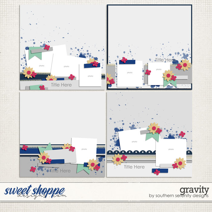Gravity Layered Templates by Southern Serenity Designs