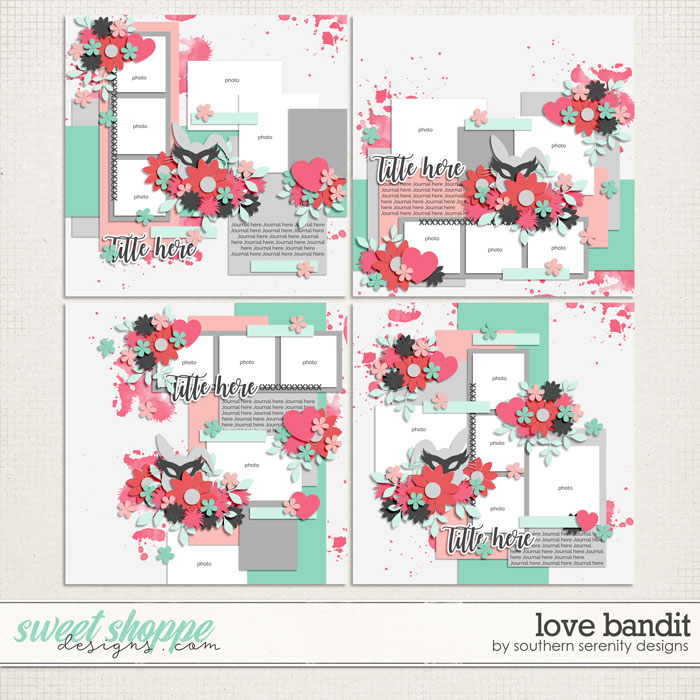 Love Bandit Layered Templates by Southern Serenity Designs