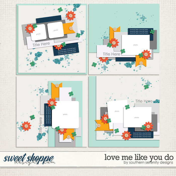 Love Me Like You Do Layered Templates by Southern Serenity Designs