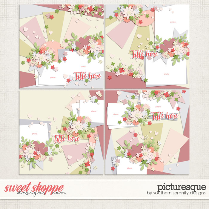 Picturesque Layered Templates by Southern Serenity Designs