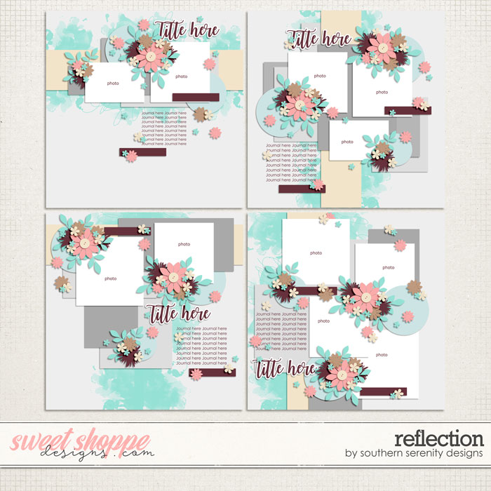 Reflection Layered Templates by Southern Serenity Designs