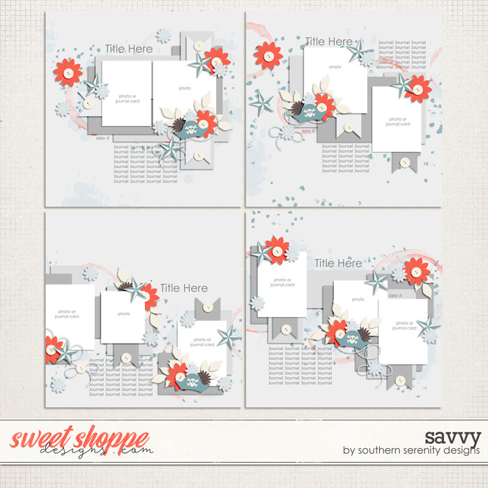 Savvy Layered Templates by Southern Serenity Designs