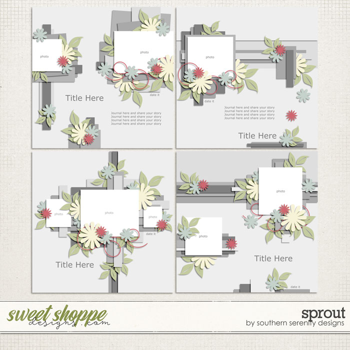 Sprout Layered Templates by Southern Serenity Designs
