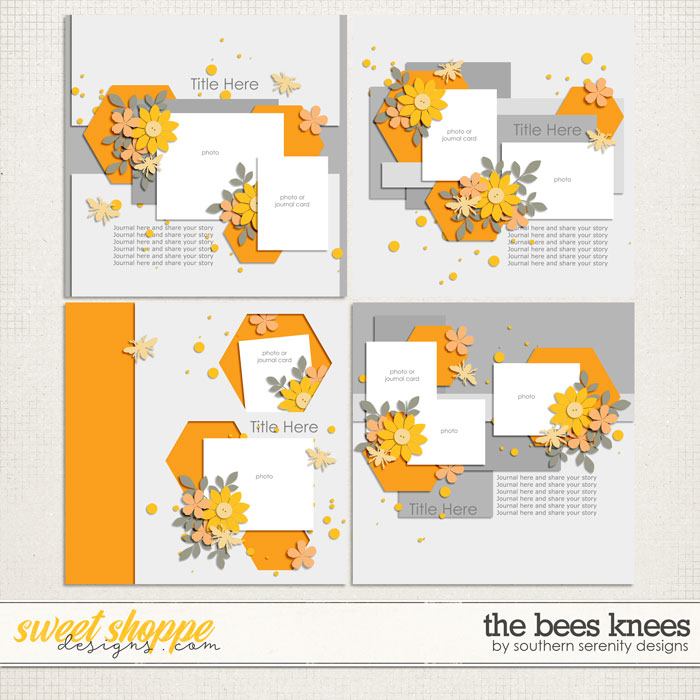 The Bees Knees Layered Templates by Southern Serenity Designs