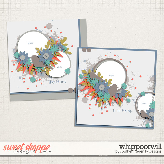 Whippoorwill Layered Templates by Southern Serenity Designs