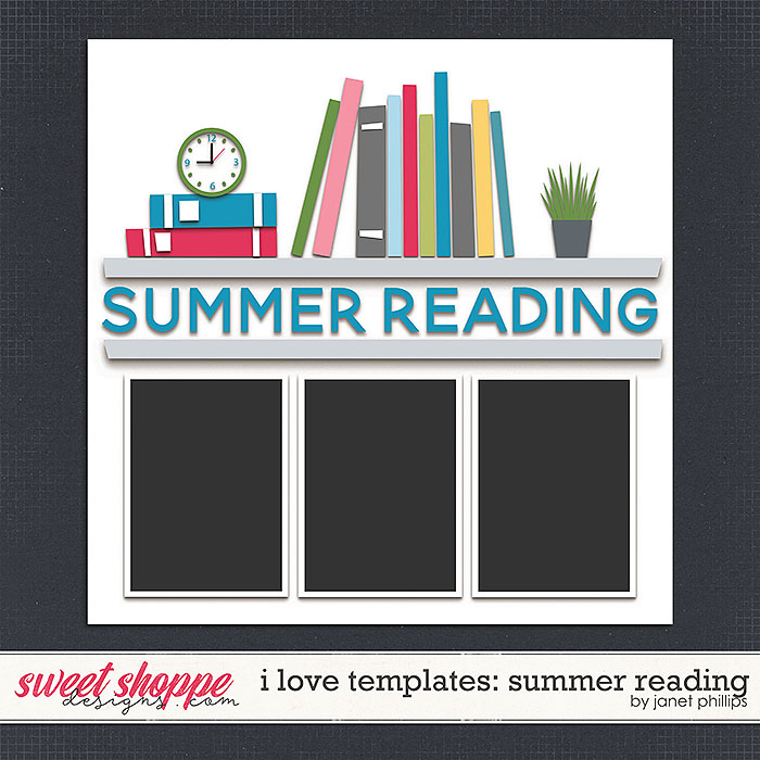 I LOVE TEMPLATES: SUMMER READING by Janet Phillips