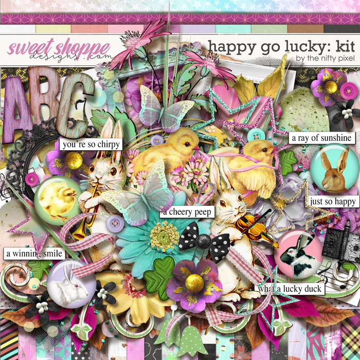 HAPPY GO LUCKY | KIT by The Nifty Pixel