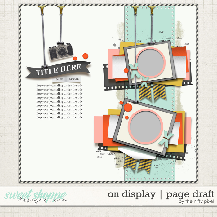 ON DISPLAY | PAGE DRAFT by The Nifty Pixel