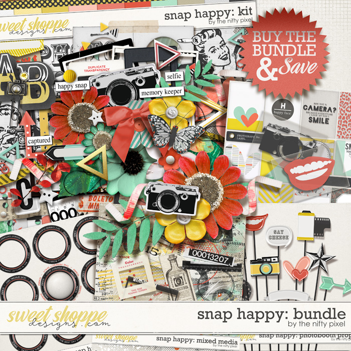 SNAP HAPPY BUNDLE | by The Nifty Pixel