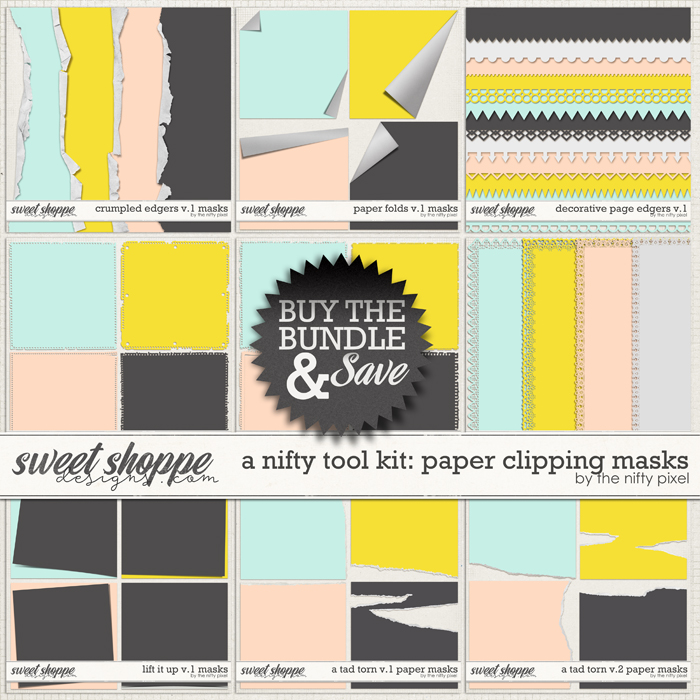 A NIFTY TOOL KIT | PAPER CLIPPING MASKS by The Nifty Pixel