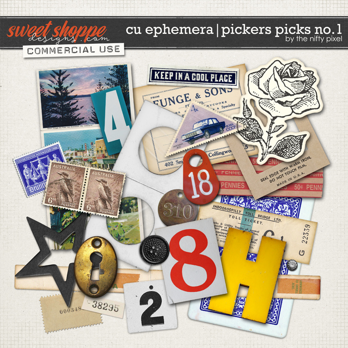 CU EPHEMERA | PICKERS PICKS No.1 by The Nifty Pixel