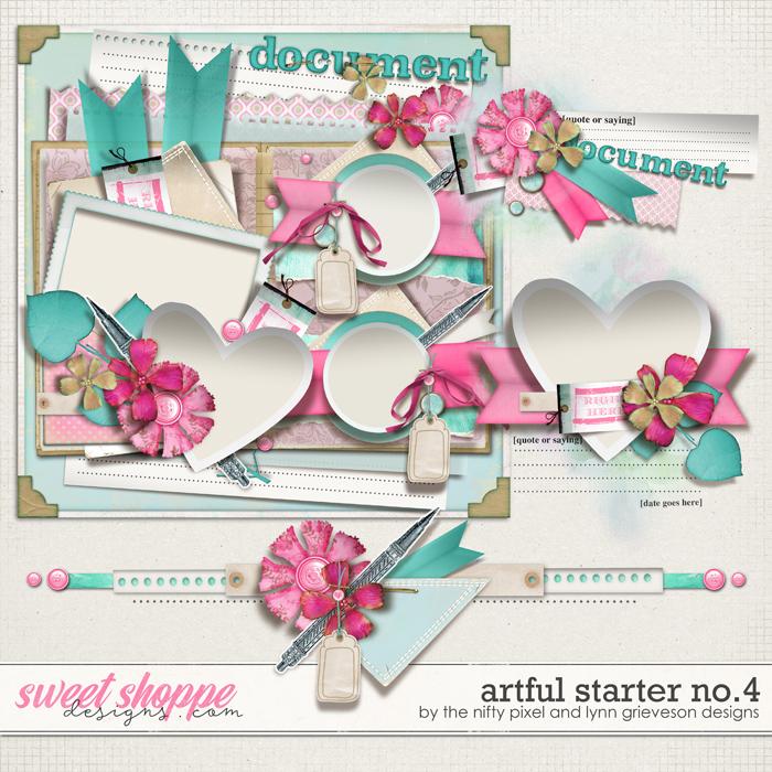 ARTFUL STARTER No.4 | The Nifty Pixel & Lynn Grieveson Designs