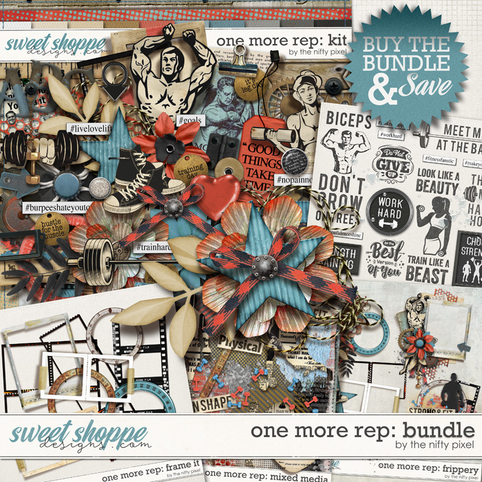 ONE MORE REP | BUNDLE by The Nifty Pixel