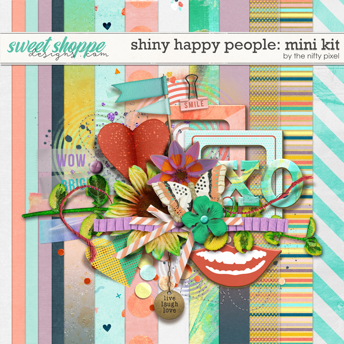 SHINY HAPPY PEOPLE | MINI KIT by The Nifty Pixel