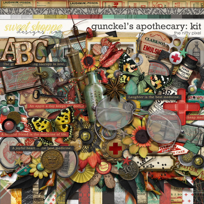GUNCKEL'S APOTHECARY KIT | by The Nifty Pixel