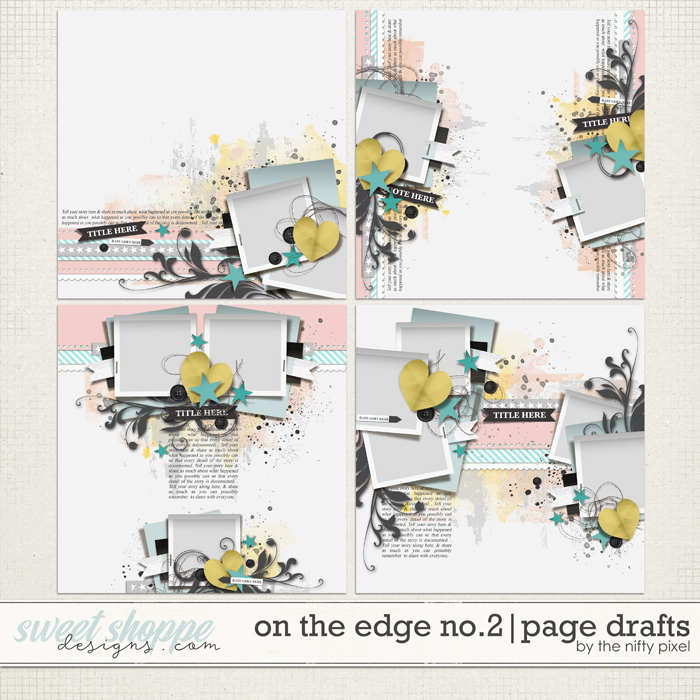 ON THE EDGE No.2 | PAGE DRAFTS by The Nifty Pixel