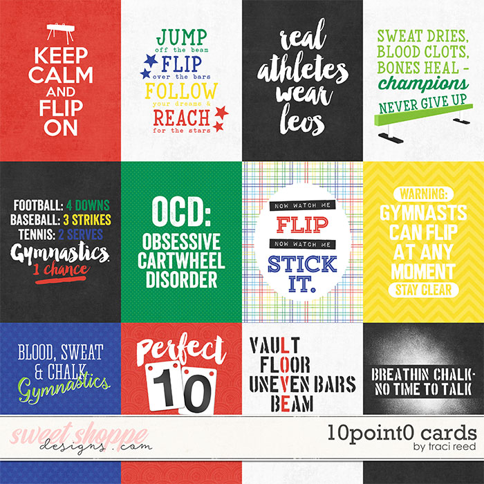 10Point0 Cards by Traci Reed