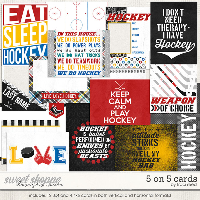 5 On 5 Cards by Traci Reed